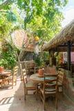 restauracja tropikalna obrazy royalty free