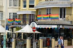 Restauracja w Brighton, Anglia Zdjęcia Stock