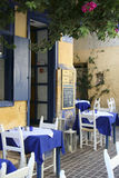 Restauracja w Chania, Grecja Obraz Royalty Free