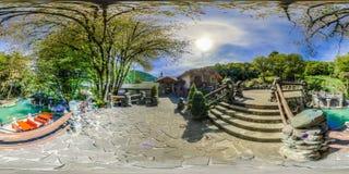 Restauracja w górach Sochi Krasnaya Polyana Rosa Khutor fotografia stock