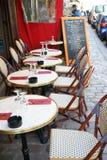 Restauracja w Montmartre Paryż Francja Obrazy Stock