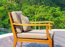 Restauracja z widokami dżungla Zdjęcia Royalty Free