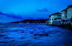 Restauracje Na Bosphorus Zdjęcie Stock