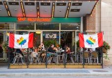 Restauracje Pokazuje poparcie dla Światowej dumy zdjęcia royalty free
