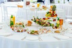 Restauracyjne catering usługa Obraz Royalty Free
