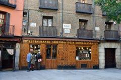 Restauracyjny Botin Zdjęcia Royalty Free