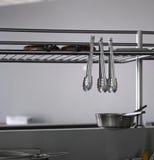 Restauracyjny kuchenny wyposażenie Zdjęcie Royalty Free