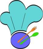 Restauracyjny logo ilustracja wektor