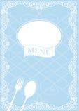 Restauracyjny menu Zdjęcia Royalty Free