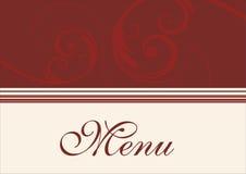 Restauracyjny menu Zdjęcie Royalty Free