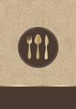 Restauracyjny menu Zdjęcie Stock