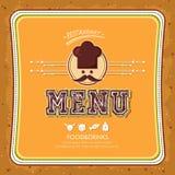 Restauracyjny menu Zdjęcia Stock