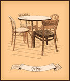Restauracyjny menu pokrywy projekt royalty ilustracja