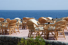 restauracyjny morze Zdjęcie Royalty Free