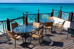 restauracyjny morze zgłasza widok Obraz Stock