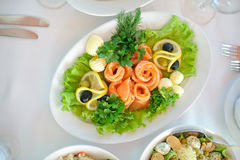 Restauracyjny owoce morza Fotografia Royalty Free
