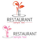 Restauracyjny symbol Zdjęcia Royalty Free