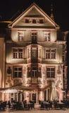 Restauracyjny Villingen-Schwenningen Niemcy fotografia royalty free