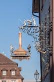 Restauracyjny Villingen-Schwenningen Niemcy Zdjęcie Royalty Free