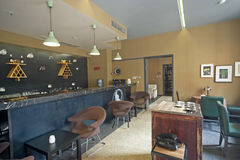 Restauracyjny wewnętrzny projekt, bar Obraz Stock