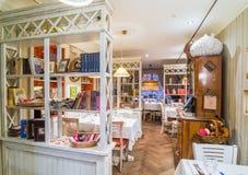 Restauracyjny wnętrze strzał Obrazy Royalty Free