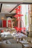 Restauracyjny wnętrze strzał Obraz Royalty Free