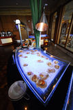 Restauracyjny wnętrze Zdjęcie Stock