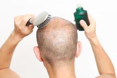 Restaurador de cabelo Fotografia de Stock Royalty Free