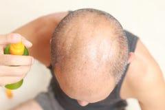 Restaurador de cabelo Imagem de Stock Royalty Free
