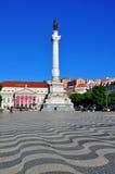 Restauradores Square, Lisbon Stock Image