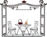 restaurang Royaltyfri Illustrationer