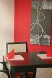 restaurang för 3 interior Fotografering för Bildbyråer