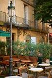 restaurang för aixen provence Royaltyfri Fotografi