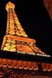 Restaurang för Eiffel torn Arkivfoton