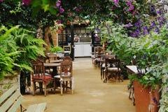Restaurang för grönt hus Arkivbilder