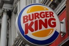 restaurang för hamburgaresnabbmatkonung royaltyfri foto