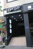 Restaurang för stång 58 i Jeju Fotografering för Bildbyråer