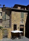 Restaurang i Italien Arkivbilder