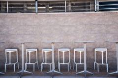 Restaurang på kanten av stranden Royaltyfri Bild