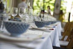 Restaurang som ut kyler flott livsstil arkivfoto
