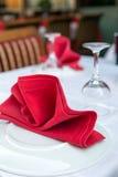 Restaurang tabell 2006 för serve för matställenovember novosibirsk restaurang set Fotografering för Bildbyråer