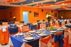 restaurangbröllop Royaltyfria Bilder