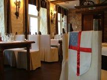 Restaurangen beskådar Arkivbild