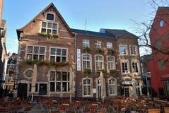 Restauranger i Aachen Arkivbilder