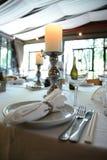 Restauranginre - planlagt mode Royaltyfri Foto