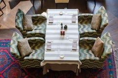 Restauranginreskott Fotografering för Bildbyråer