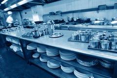Restaurangkök Arkivbild