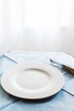 Restaurangtabelldetalj Arkivbilder