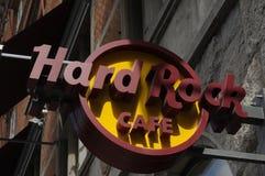 RESTAURANT À CHAÎNES AMÉRICAIN DE HARD ROCK CAFE Photo stock