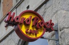 RESTAURANT À CHAÎNES AMÉRICAIN DE HARD ROCK CAFE Photographie stock libre de droits